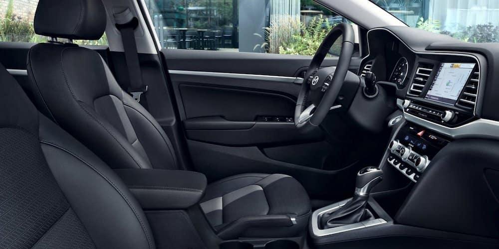 2020 Hyundai Elantra Front Interior