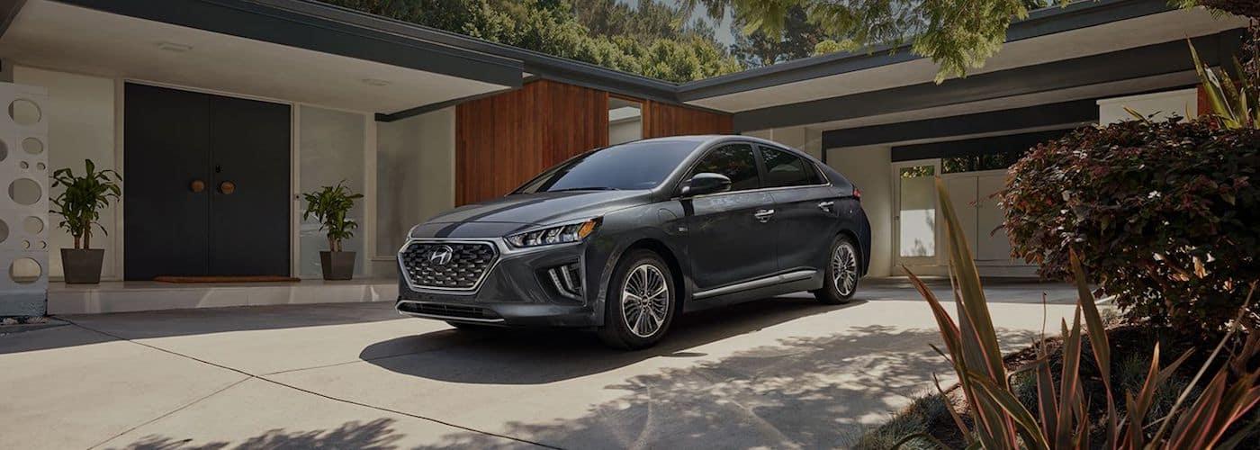 2020 Hyundai Model Parked at Home