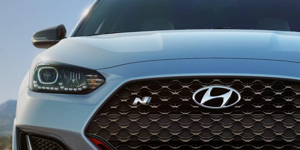 Close-Up of Hyundai Grille