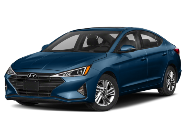 Light Blue 2020 Hyundai Elantra
