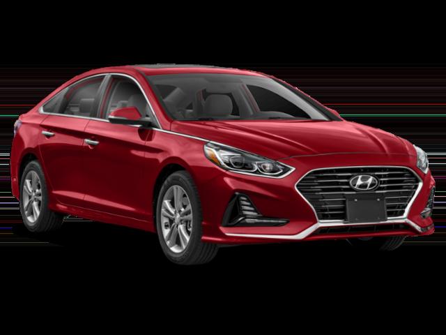 Red 2019 Hyundai Sonata