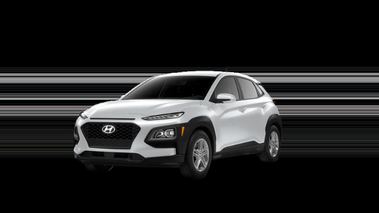 2021 Hyundai Kona Chalk White