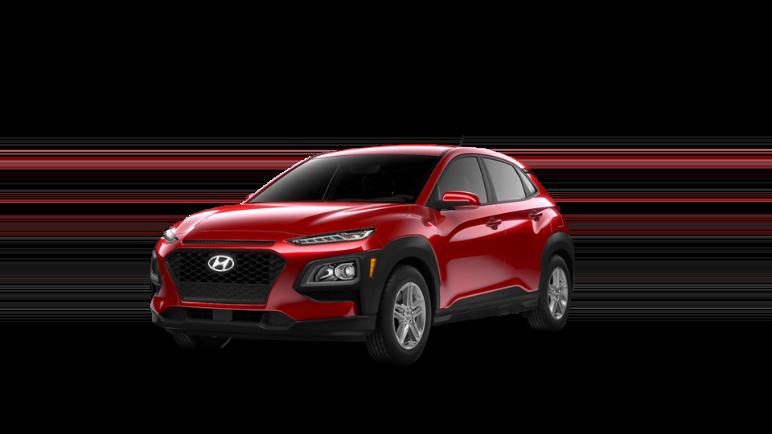 2021 Hyundai Kona Pulse Red