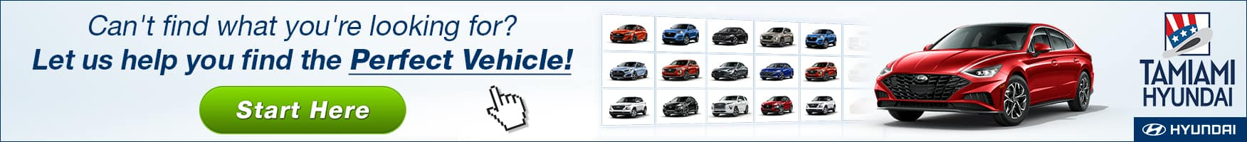 Can't Find What You're Looking For? Let Tamiami Hyundai Help You Find Your Perfect Vehicle!