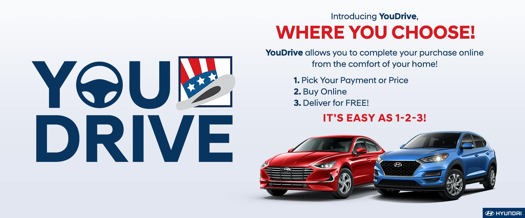 1 2 3 and You Drive Home with Tamiami Hyundai To Go!