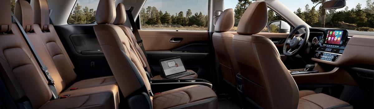 Pathfinder Seat Row