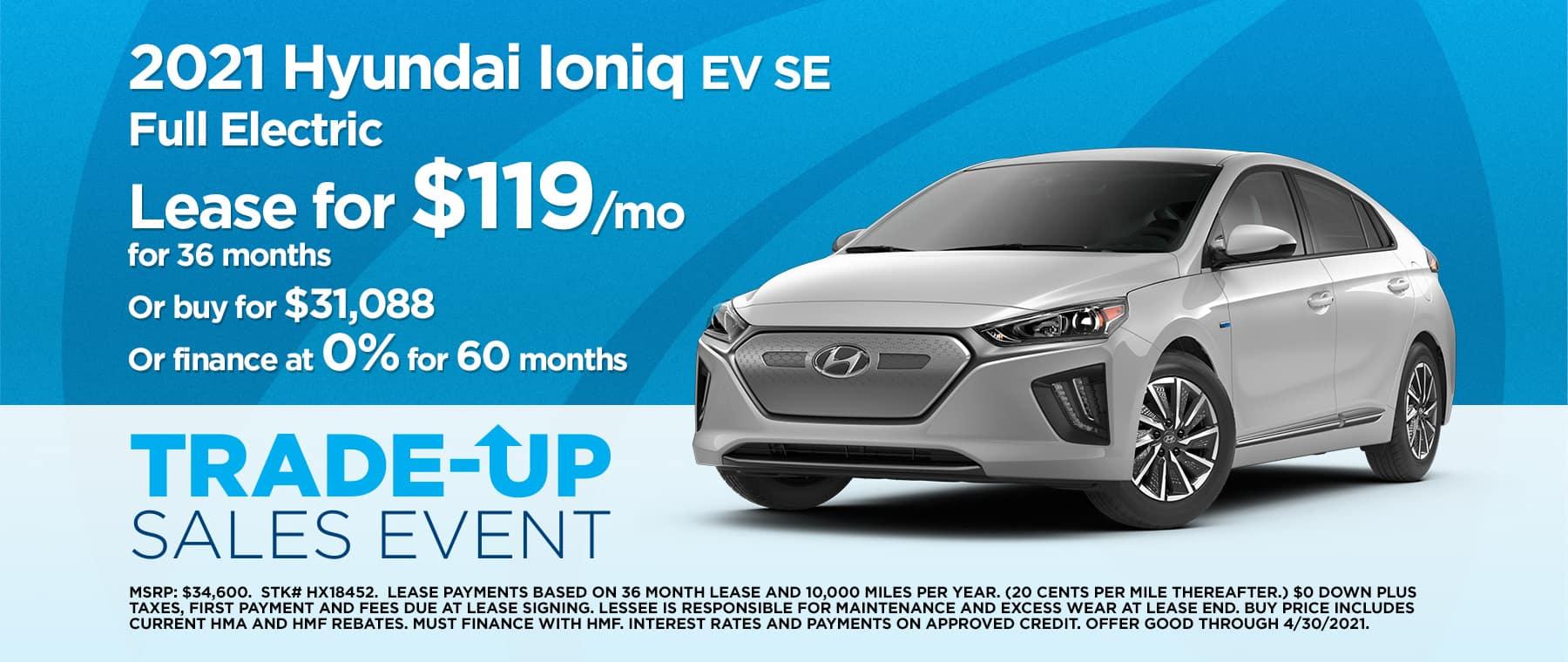 2104 Hyundai Ioniq EV