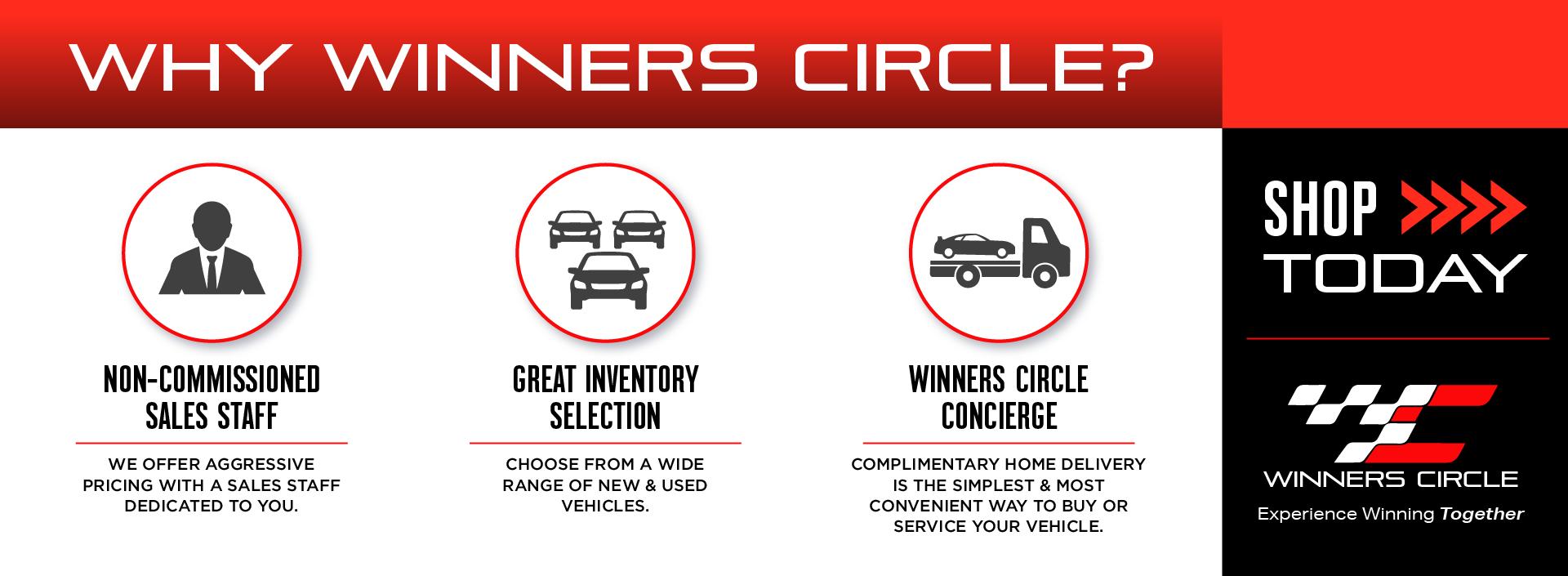 Why Winners Circle?